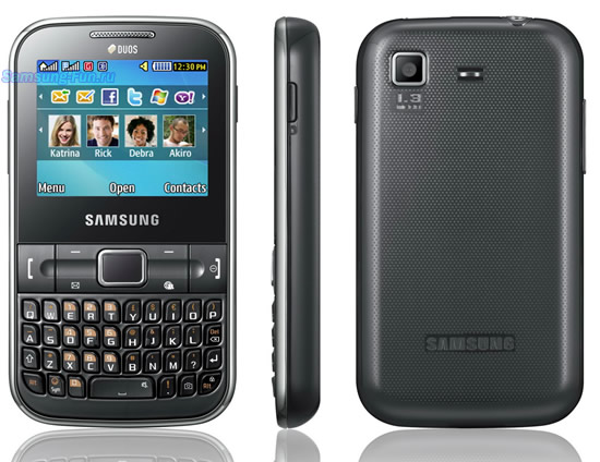 Cần bán điện thoại Samsung C3222, bán điện thoại 2 sim 2 sóng giá rẻ tại Hà Nội, ngoài tính năng hỗ trợ 2 sim, máy đầy đủ tính năng giải trí cơ bản camera, thẻ nhớ nghe nhạc mp3, blutooth, tích hợp sẵn phần mềm vào mạng facebook, Twitter,... java cài đặt phần mềm và game, có bàn phím qwerty đầy đủ giúp điện thoại chat nhắn tin nhanh hơn, phím điều khiển di chuyển cảm ứng thao tác nhanh hơn.  Máy đã kiểm tra mọi tính năng hoạt động tốt, không lỗi làm, hình thức còn khá đẹp.  Giá: 450k (máy, pin) Liên hệ: 0904.691.851  Samsung C3222 giá 550k | Bán điện thoại 2 sim 2 sóng giá rẻ camera nghe nhạc mp3 qwerty
