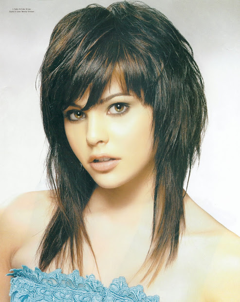 shag hairstyles women