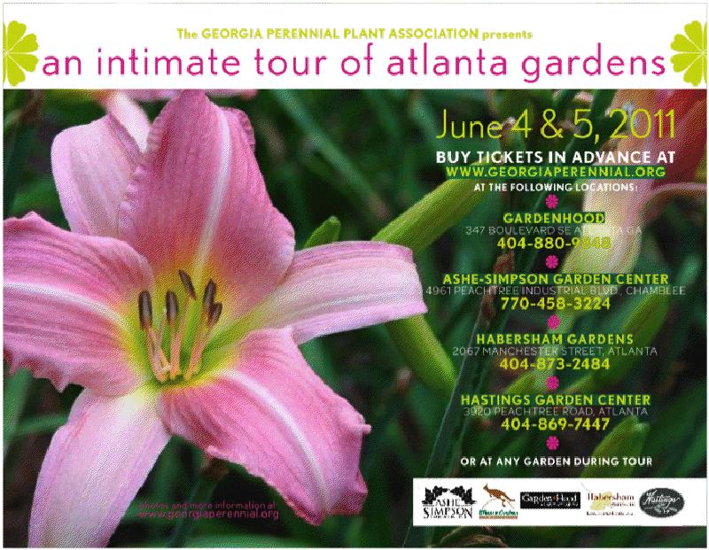 Save The Date   June 4 U0026 5, Atlanta Garden Tour
