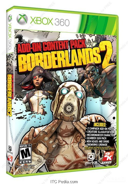 Borderlands 2 Addon Pack XBOX360 - iNSOMNi