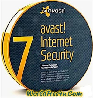 Cover OF Avast! Internet Security Full Version 7 Latest Version Free Download At worldfree4u.com