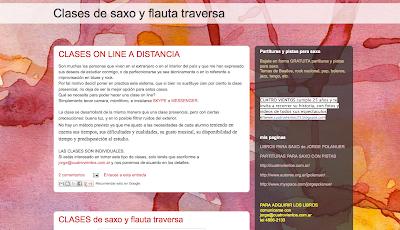 Directoriopax Directorio Musical con blogs y webs relacionados con la música, añade tu web, agrega tu blog! Clases de Saxo y Flauta Travesera