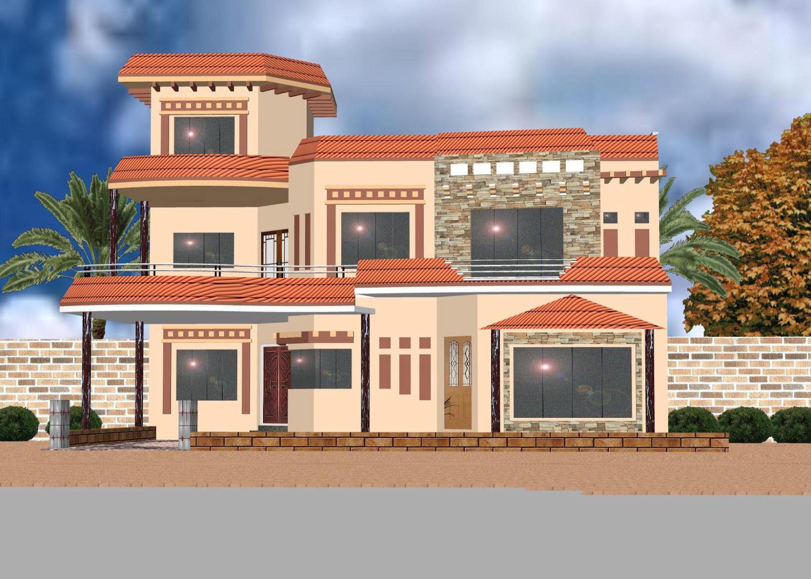 ... Elevation Of Houses In Pakistan | Joy Studio Design Gallery - Best