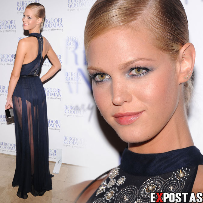 Erin Heatherton: Bergdorf Goodman's 111th anniversary celebration in New York - 18 de Outubro de 2012