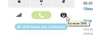 Como enviar SMS pelo Skype