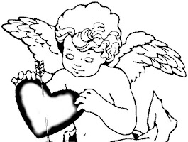 Cute Cupid Coloring Pages