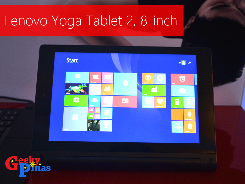 Lenovo Yoga Tablet 2 8 Inch Officially Released In Ph Priced At Php Tab Variant
