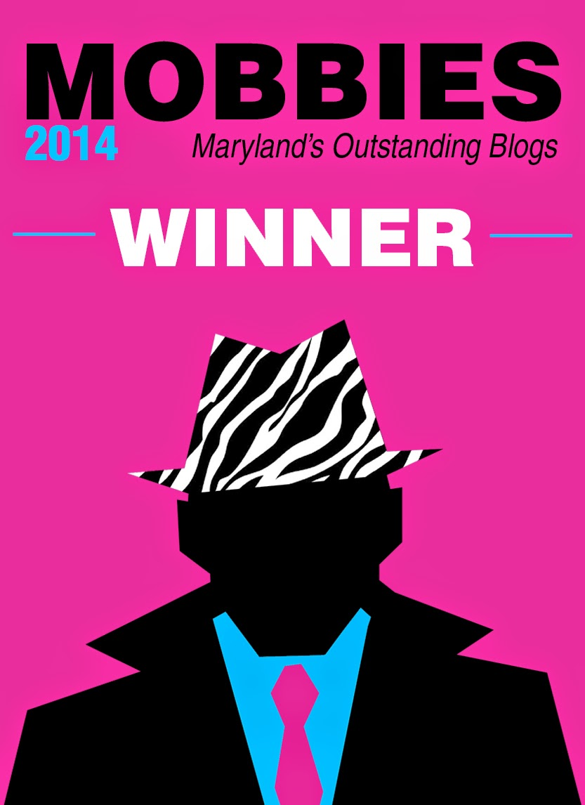 Baltimore Sun Blog Winner!