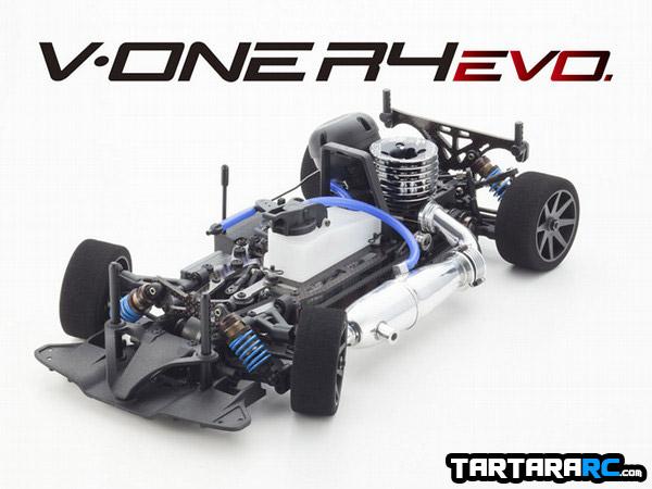 Kyosho V-One R4 Evo: imagens e ficha técnica
