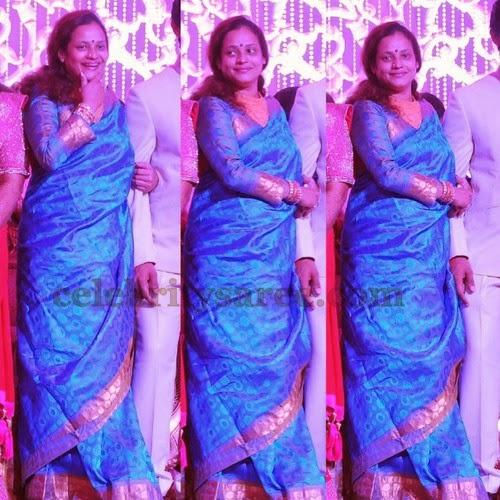 disco shanti blue bridal saree saree blouse patterns