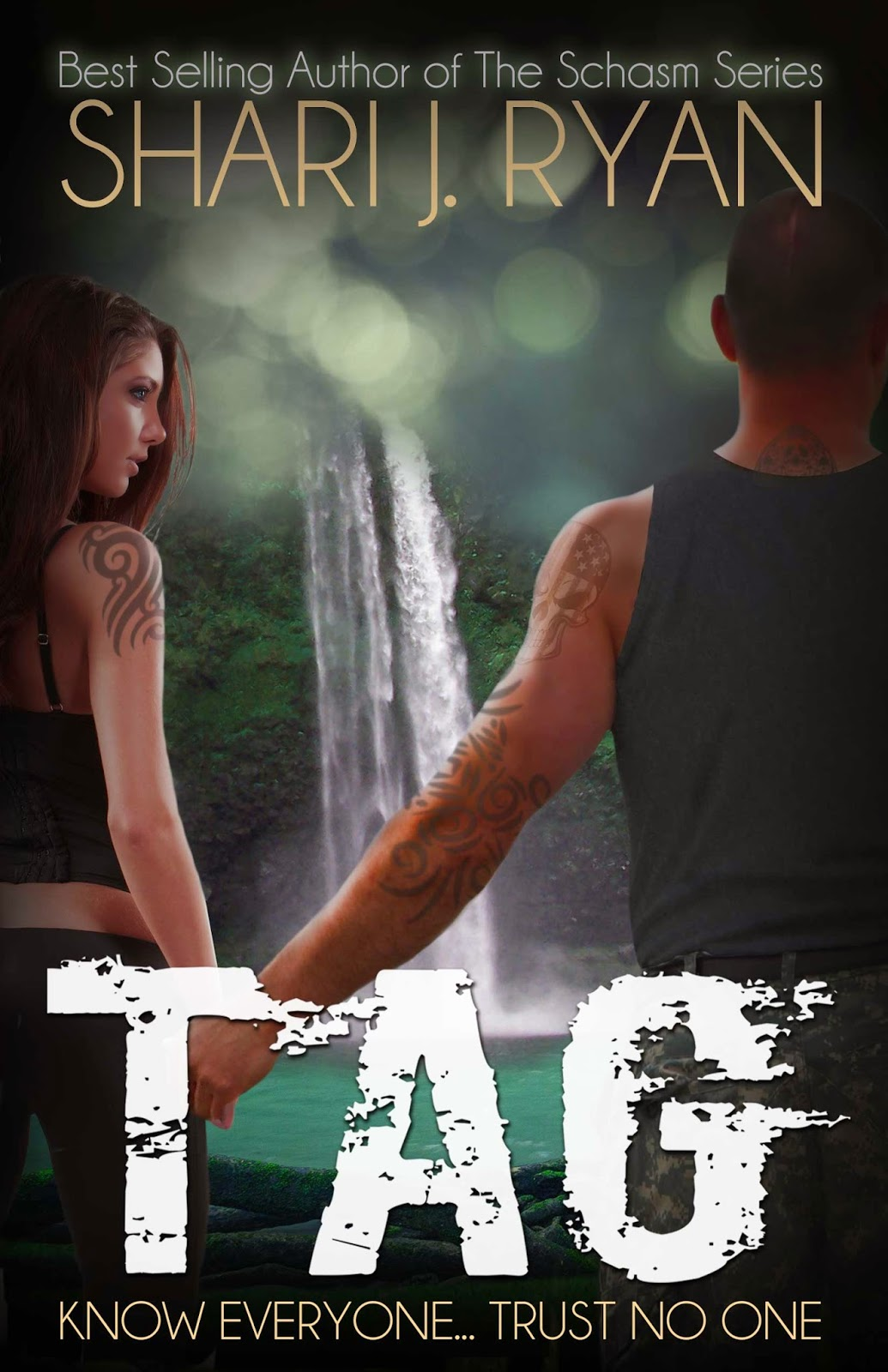 Cover Reveal: TAG by Shari J. Ryan