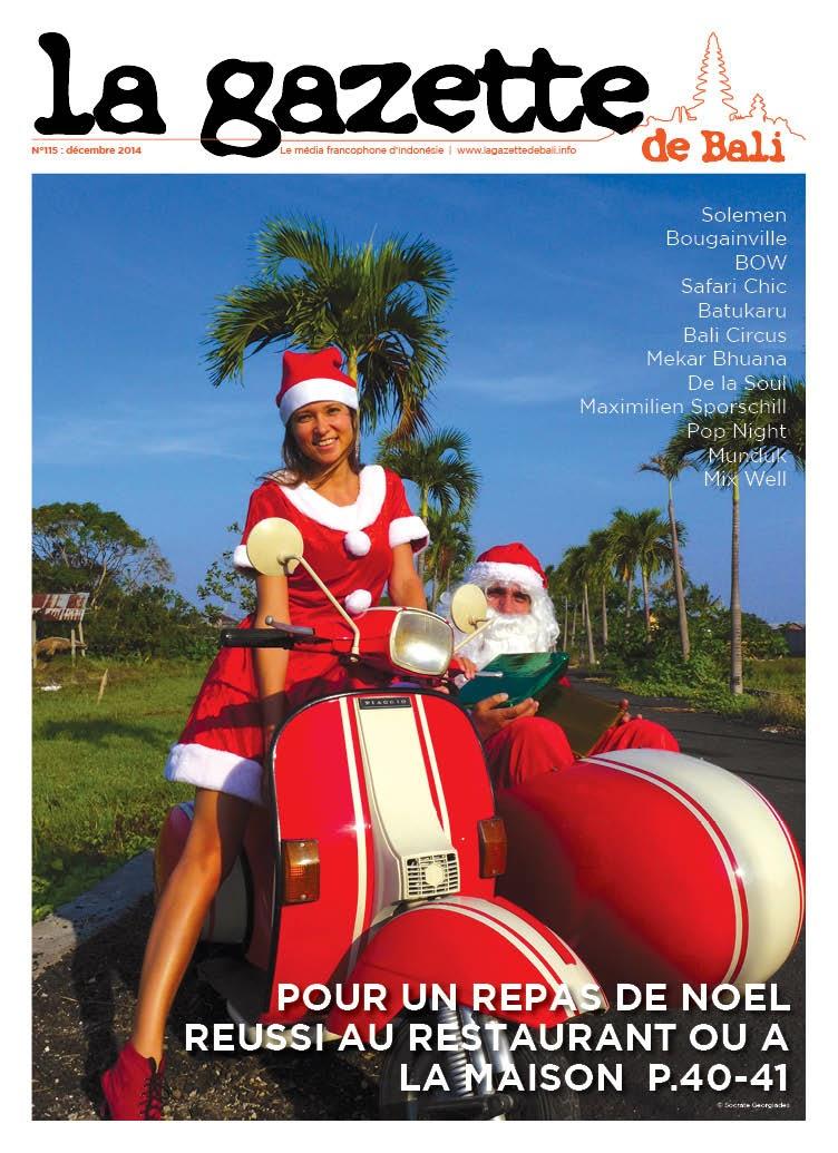 La Gazette de Bali décembre 2014