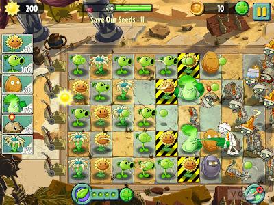 Tampilan3 Plants vs Zombies 2