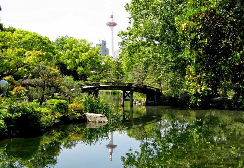 Shosei-en garden, Kyoto Japan