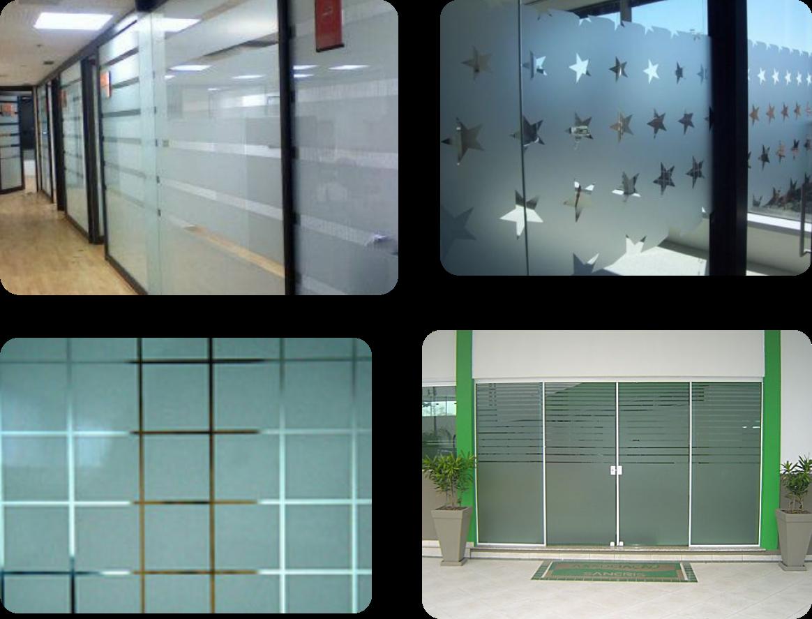 #407B44 Os adesivos jateados são uma forma rápida e barata de substituir o  1572 Vidros E Janelas Bh