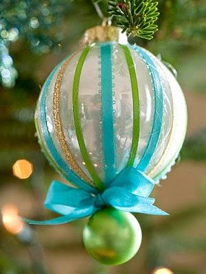 coloridas esferas de navidad
