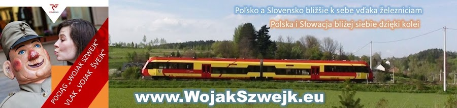 Pociąg Wojak Szwejk Vlak Vojak Švejk