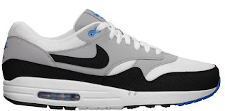 02/06/2013 Nike Air Max 1 Essential 537383-230 Beach/Dark Atomic Teal-Poison Green-Atomic Teal-Summit White $100.00