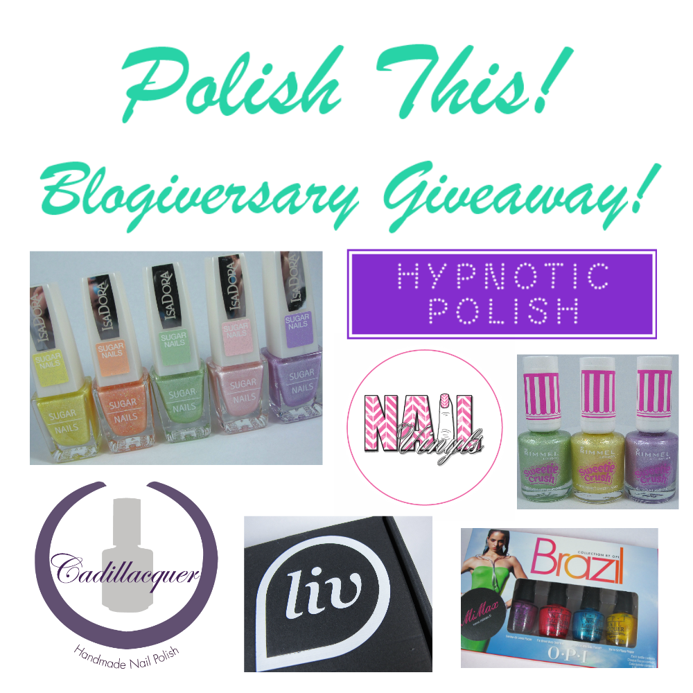 Giveaway at Polishthis! until 21 April