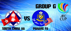 Pahang Vs South China 15 April 2015 AFC Cup