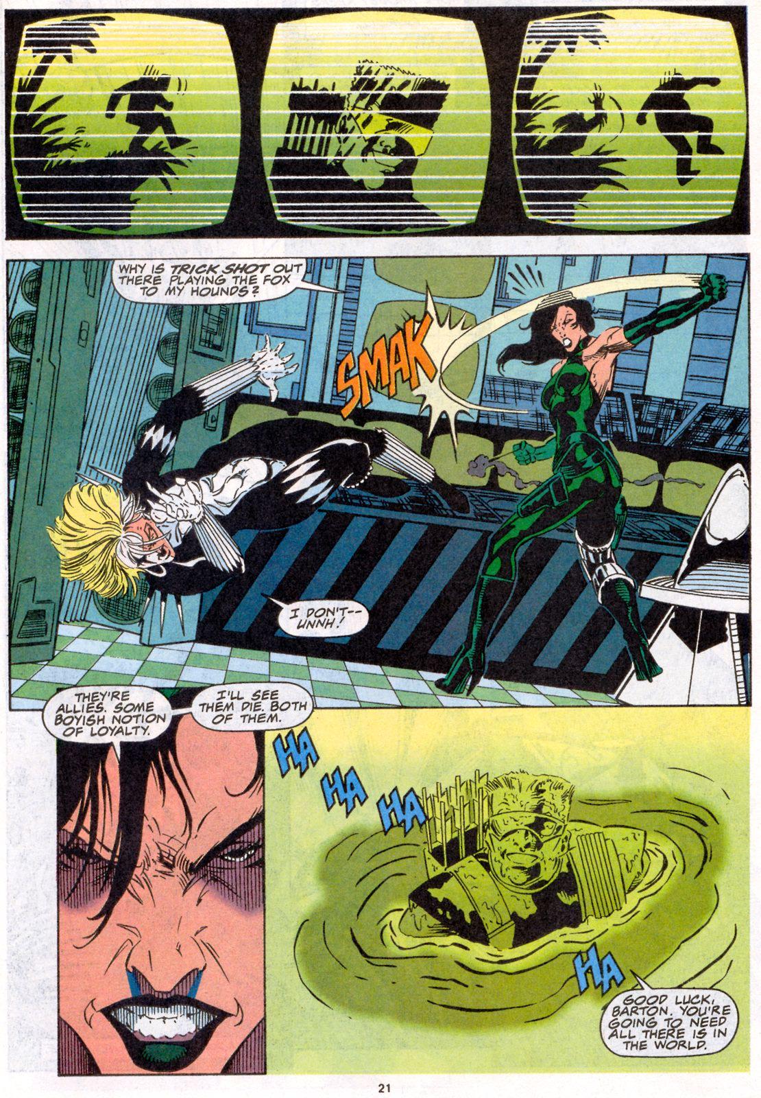 Hawkeye (1994) Issue #4 #4 - English 17