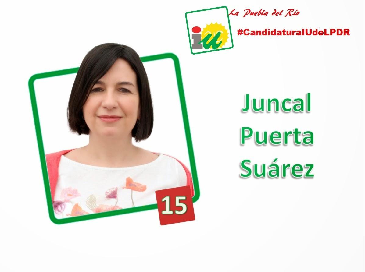 #CandidaturaIUdeLPDR Juncal Puertas