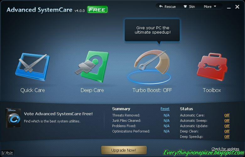 Advanced systemcare pro v4 download