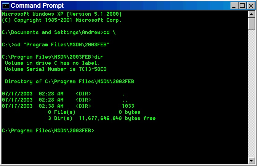 how to clear command prompt