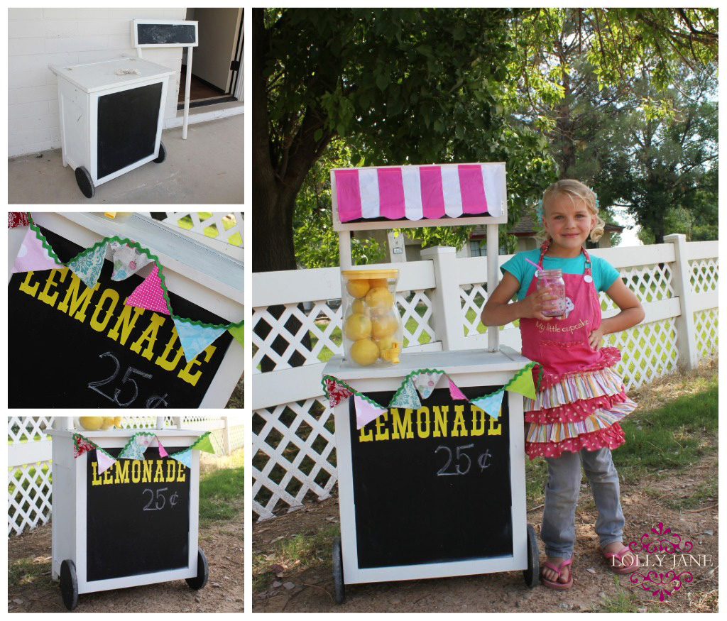 diy lemonade stand