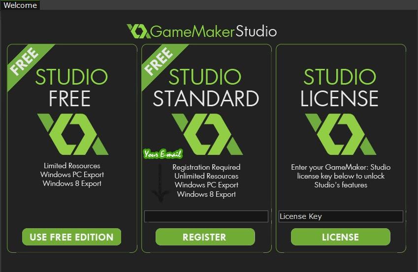 The professional program who create electronic games gamemaker studio