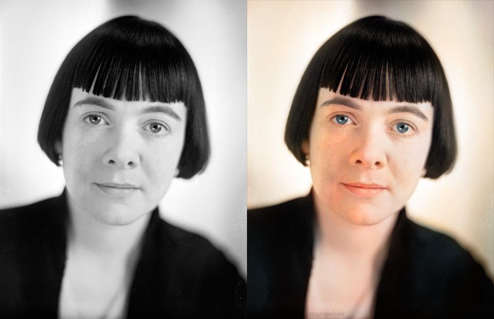 Как сделать с цветной фотографии черно-белую