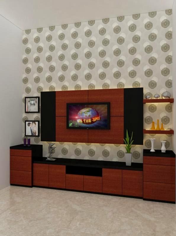 Jasa desain gambar murah gambar interior design credenza menarik keren unik modern - Gambar interior design ...