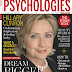 Hillary Clinton on the October issue cover of the Psychologies Magazin