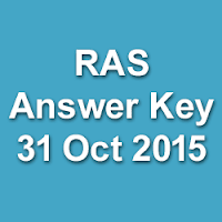 RPSC RAS Pre 2013 Re Exam Answer Key 2015