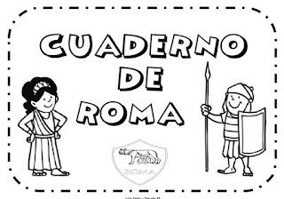 TRABAJO POR PROYECTOS: CUADERNO DE ROMA