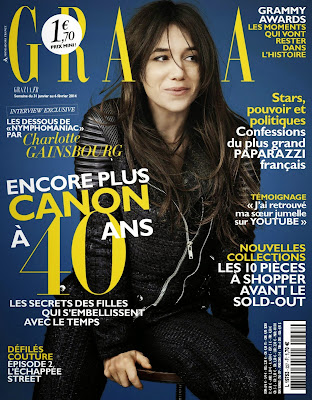 Charlotte Gainsbourg HQ Pictures Grazia France Magazine Photoshoot Janvier 2014
