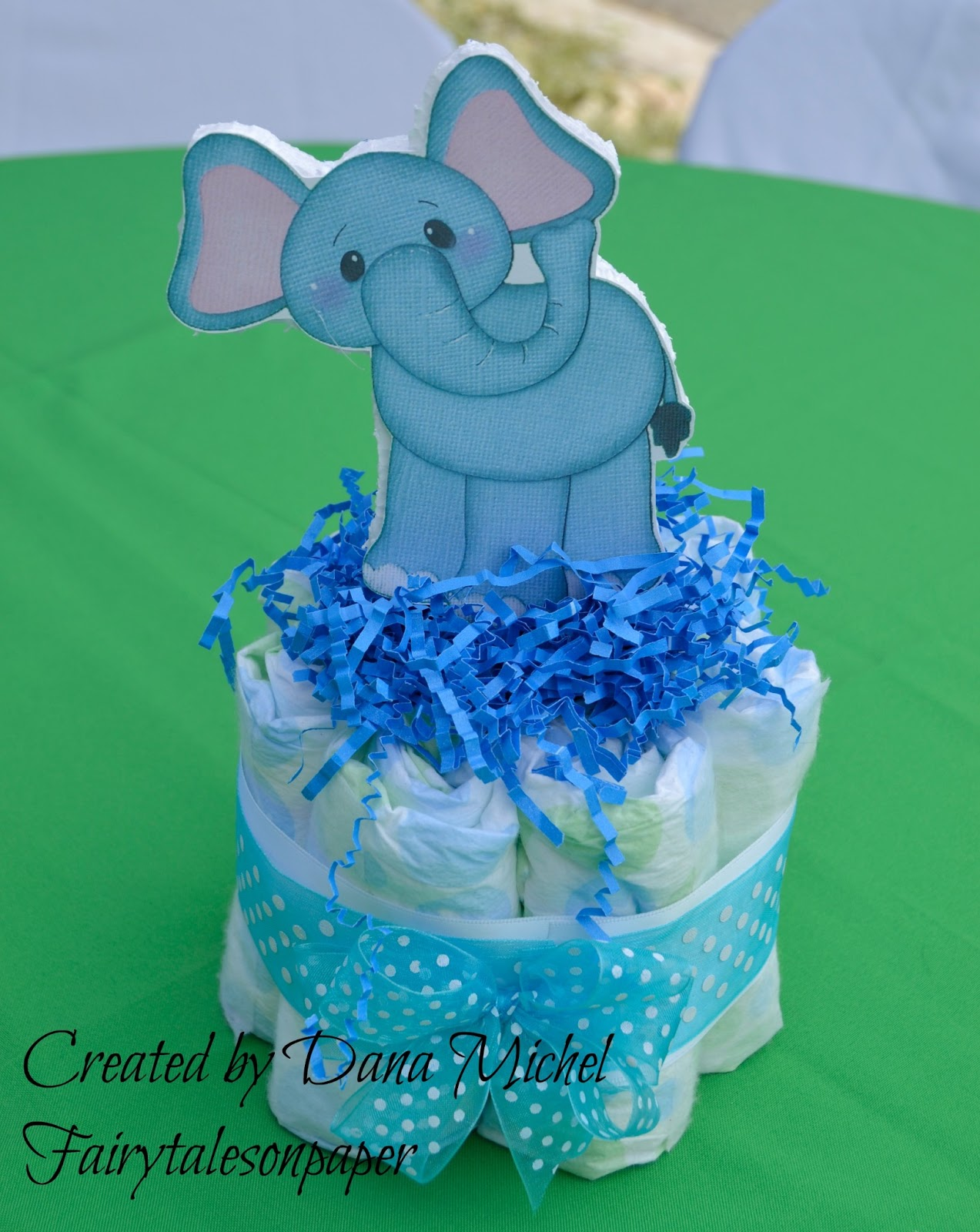 Fairy Tales On Paper Baby Shower Centerpiece