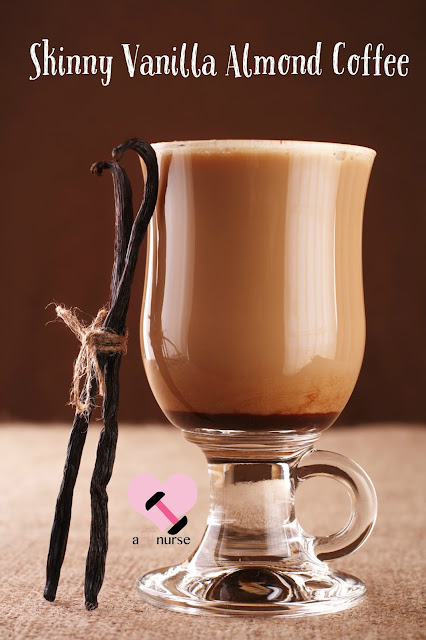 Healthy Fall Drinks - Vanilla Almond Coffee