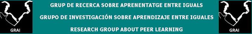 Notícies Grup de Recerca sobre Aprenentatge entre Iguals (GRAI)