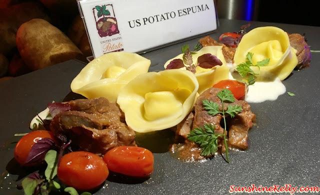 US Potato Culinary Festival Kuala Lumpur 2015, US Potato, Sheraton Imperial Hotel, Kuala Lumpur, US Potato Espuma, Sheraton Imperial Hotel, Kuala Lumpur