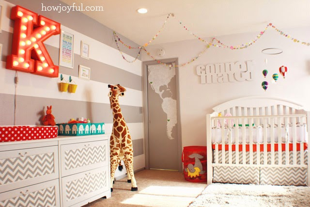 Gender Neutral Nurseries and Kids' Rooms