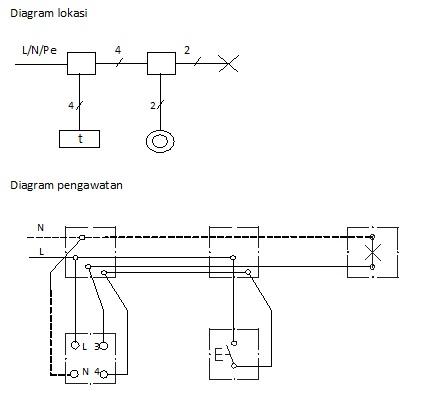 Saklar staircase berbagi ilmu tabel kebenaran pengaturan penerangan staircase dengan penyambungan 4 kawat ccuart Images