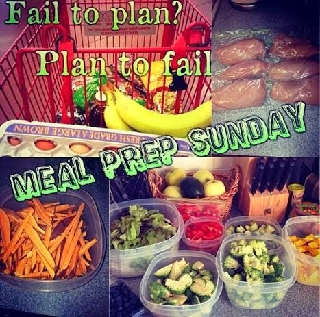 meal planning, fail to plan plan to fail