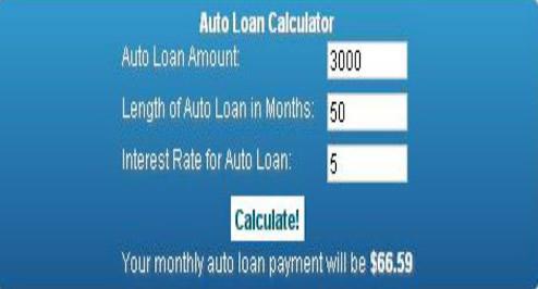 Auto Loan Calculator  Calculatornet Free Online Calculators
