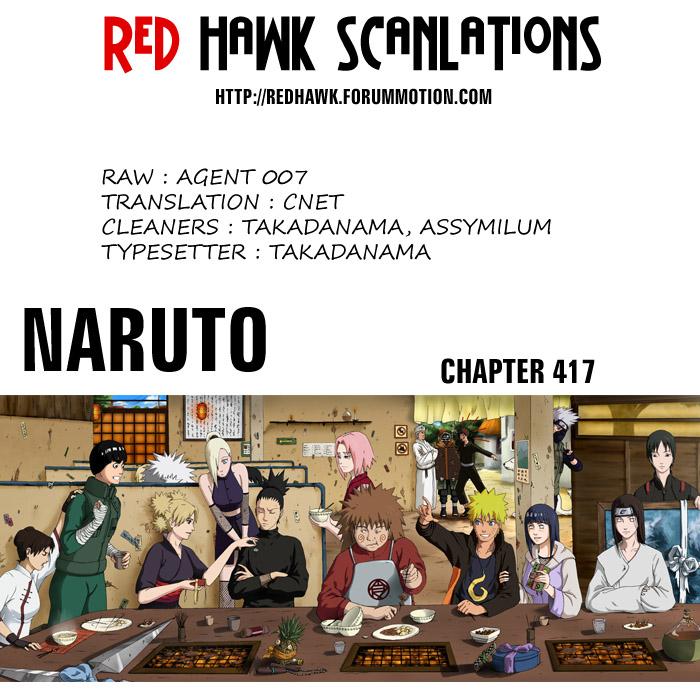 Naruto chap 417 Trang 19 - Mangak.info