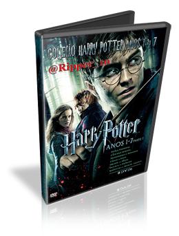 Download Coleção Harry Potter - Edição de 1 a 7 Dublado DVDRip (AVI Dual Áudio + RMVB Dublado)