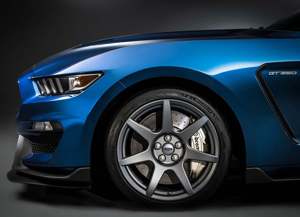「Mustang Shelby GT350R」のフロントホイール画像