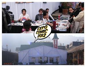 Reportaje en Expocomics (canal 13 de Chile)
