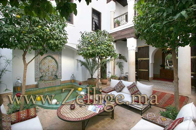Zellige Marocain Salle De Bain : Hammam marocain salle de bain ...