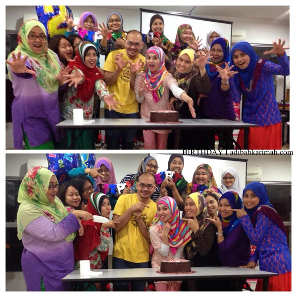 Geng Awesomazing Team meraikan birthday Adibah Karimah